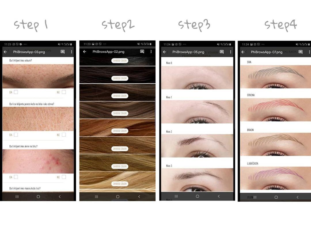 Advanced online microblading training